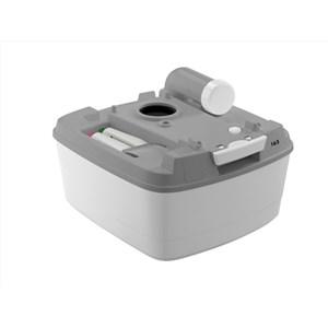 Toalett Portta Potti 165 Qube Grå
